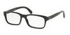 Polo PH2163 Rectangle Eyeglasses  5001-SHINY BLACK 54-17-145 - Color Map black