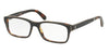 Polo PH2163 Rectangle Eyeglasses  5621-SHINY BLACK WATCH 54-17-145 - Color Map black