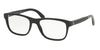 Polo PH2166 Rectangle Eyeglasses  5001-SHINY BLACK 56-19-145 - Color Map black