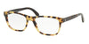Polo PH2166 Rectangle Eyeglasses  5004-SHINY HAVANA SPOTTY 56-19-145 - Color Map havana