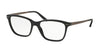 Polo PH2167 Cat Eye Eyeglasses  5001-SHINY BLACK 54-17-145 - Color Map black