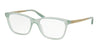 Polo PH2167 Cat Eye Eyeglasses  5334-SHINY PALE GREEN 52-17-145 - Color Map green