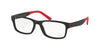 Polo PH2169 Pillow Eyeglasses  5284-MATTE BLACK 56-17-150 - Color Map black
