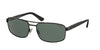 Polo PH3086 Rectangle Sunglasses  903871-MATTE BLACK 58-17-140 - Color Map black