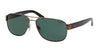 Polo PH3089 Square Sunglasses  927271-SEMISHINY DARK BROWN 60-14-140 - Color Map brown