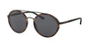 Polo PH3103 Round Sunglasses  903887-MATTE BLACK 53-19-140 - Color Map black