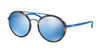 Polo PH3103 Round Sunglasses  931855-MATTE ROYAL BLUE 53-19-140 - Color Map blue