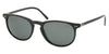 Polo PH3044 PH4044 Phantos Sunglasses  500187-SHINY BLACK 52-19-145 - Color Map black