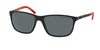 Polo PH4092 Square Sunglasses  550481-MATTE BLACK 58-16-145 - Color Map black
