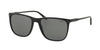 Polo PH4102 Square Sunglasses  500187-SHINY BLACK 55-18-145 - Color Map black