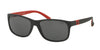 Polo PH4109 Rectangle Sunglasses  524787-MATTE BLACK 59-17-145 - Color Map black