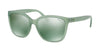 Polo PH4114 Square Sunglasses  56036R-MATTE CRYSTAL GREEN 55-17-140 - Color Map crystal