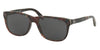 Polo PH4116 Square Sunglasses  562287-SHINY BLACK TARTAN 58-18-145 - Color Map black