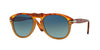 Persol PO0649 Pilot Sunglasses  1025S3-RESINA E SALE 54-20-140 - Color Map havana