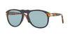 Persol PO0649 Pilot Sunglasses  10903R-BLUE PRINCE OF WALES 54-20-140 - Color Map blue