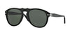 Persol PO0649 Pilot Sunglasses  95/31-BLACK 56-20-145 - Color Map black