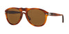 Persol PO0649 Pilot Sunglasses  96/33-LIGHT HAVANA 54-20-140 - Color Map havana