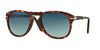Persol FOLDING PO0714 Pilot Sunglasses  24/S3-HAVANA 54-21-140 - Color Map black