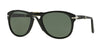 Persol FOLDING PO0714 Pilot Sunglasses  95/58-BLACK 54-21-140 - Color Map black