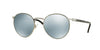 Persol PO2388S Round Sunglasses  103930-GUNMETAL 51-20-145 - Color Map brown