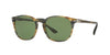 Persol PO3007S Square Sunglasses  10494E-STRIPED BROWN GREY 53-18-145 - Color Map brown