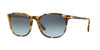 Persol PO3007S Square Sunglasses  105286-MADRETERRA 53-18-145 - Color Map havana