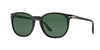 Persol PO3007S Square Sunglasses  900058-MATTE BLACK 53-18-145 - Color Map black