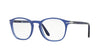 Persol PO3007V Square Eyeglasses  1015-COBALTO 50-19-145 - Color Map blue