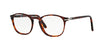 Persol PO3007V Square Eyeglasses  24-HAVANA 52-19-145 - Color Map havana