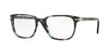 Persol PO3117V Square Eyeglasses  1062-SPOTTED BLUE MATTE GREY 53-19-145 - Color Map havana