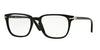 Persol PO3117V Square Eyeglasses  95-BLACK 53-19-145 - Color Map black