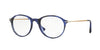 Persol PO3125V Phantos Eyeglasses  1053-STRIPED BLUE 51-19-140 - Color Map blue