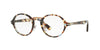 Persol PO3128V Round Eyeglasses  1058-HAVANA AZURE-BROWN 46-22-145 - Color Map havana