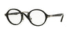 Persol PO3128V Round Eyeglasses  95-BLACK 46-22-145 - Color Map black