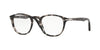 Persol PO3143V Rectangle Eyeglasses  1080-TORTOISE GREY 49-21-145 - Color Map grey