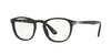 Persol PO3143V Rectangle Eyeglasses  95-BLACK 49-21-145 - Color Map black