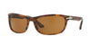 Persol PO3156S Rectangle Sunglasses  108/33-CAFFE' 63-18-135 - Color Map havana