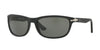 Persol PO3156S Rectangle Sunglasses  900058-BLACK 63-18-135 - Color Map black