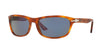 Persol PO3156S Rectangle Sunglasses  96/56-TERRA DI SIENA 63-18-135 - Color Map havana
