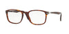 Persol PO3161V Square Eyeglasses  24-HAVANA 54-19-145 - Color Map havana