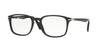 Persol PO3161V Square Eyeglasses  95-BLACK 52-19-145 - Color Map black