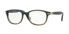 Persol PO3163V Square Eyeglasses  1012-GRADIENT GREY STRIPED GREEN 54-19-145 - Color Map grey