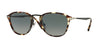 Persol PO3165S Square Sunglasses  105771-HAVANA-GREY-BROWN 52-22-145 - Color Map multi
