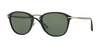 Persol PO3165S Square Sunglasses  95/31-BLACK 52-22-145 - Color Map black