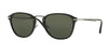 Persol PO3165S Square Sunglasses  95/58-BLACK 52-22-145 - Color Map black