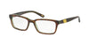 Polo Prep PP8525 Rectangle Eyeglasses  1590-TORTOISE GREEN 47-16-130 - Color Map havana