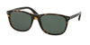 Prada PR01RSF Rectangle Sunglasses  2AU3O1-HAVANA 57-19-145 - Color Map havana