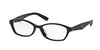 Prada PR02SV Cat Eye Eyeglasses  1AB1O1-BLACK 54-16-140 - Color Map black
