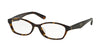 Prada PR02SV Cat Eye Eyeglasses  2AU1O1-HAVANA 54-16-140 - Color Map havana