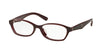 Prada PR02SV Cat Eye Eyeglasses  UAN1O1-OPAL BORDEAUX ON BORDEAUX 54-16-140 - Color Map bordeaux